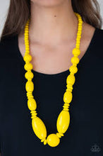 Load image into Gallery viewer, Summer Breezin' Yellow Necklace