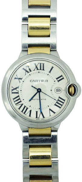 Cartier Twotone ballon bleu 46mm