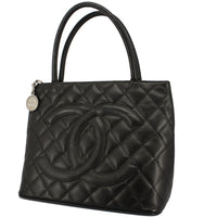 Chanel Caviar Quilted Medallion Tote Bag