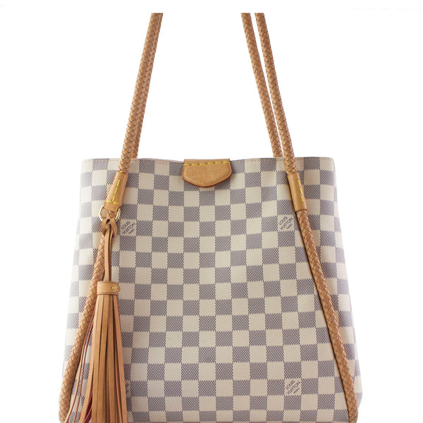 Louis Vuitton Damier Azur Propriano Tote Bag