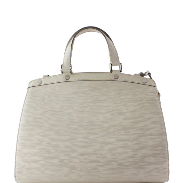 LOUIS VUITTON BREA GM EPI WHITE BAG