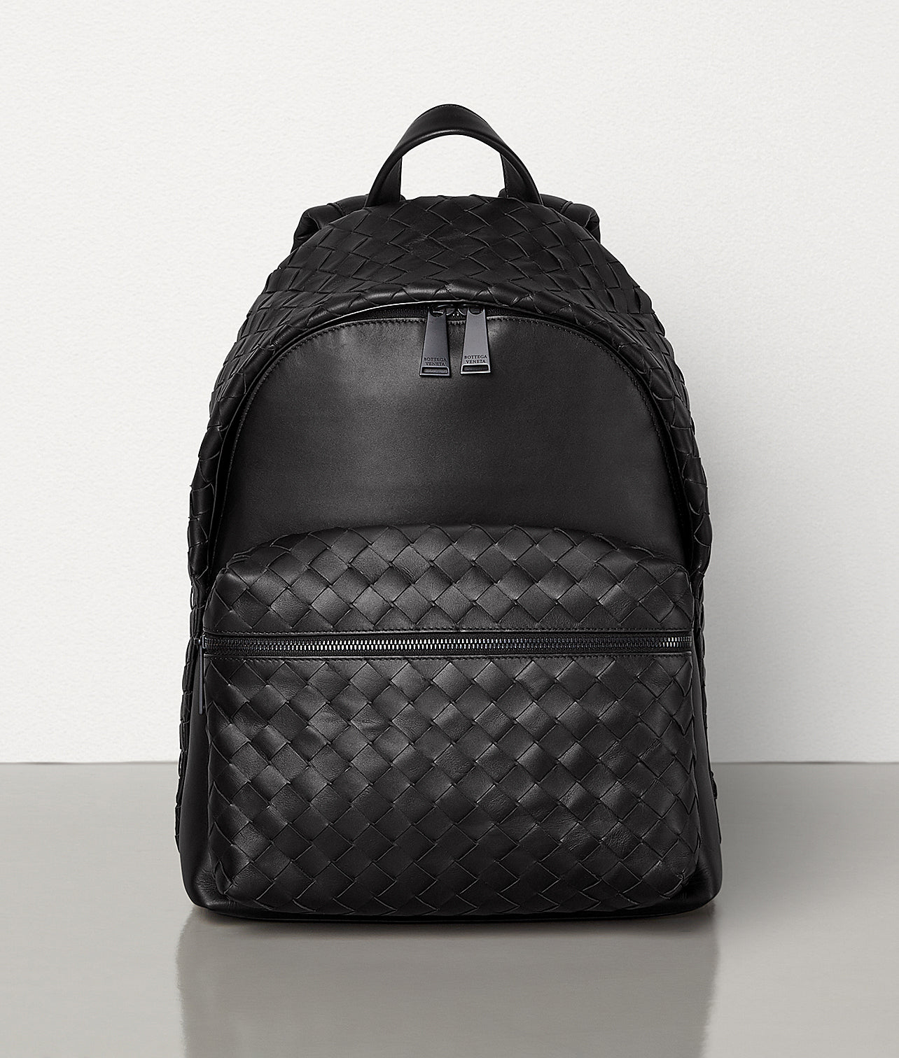 BOTTEGA VENETA Backpack in woven calfskin