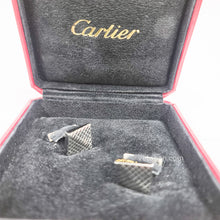 Load image into Gallery viewer, Cartier Silver Sv925 Cufflinks Men's