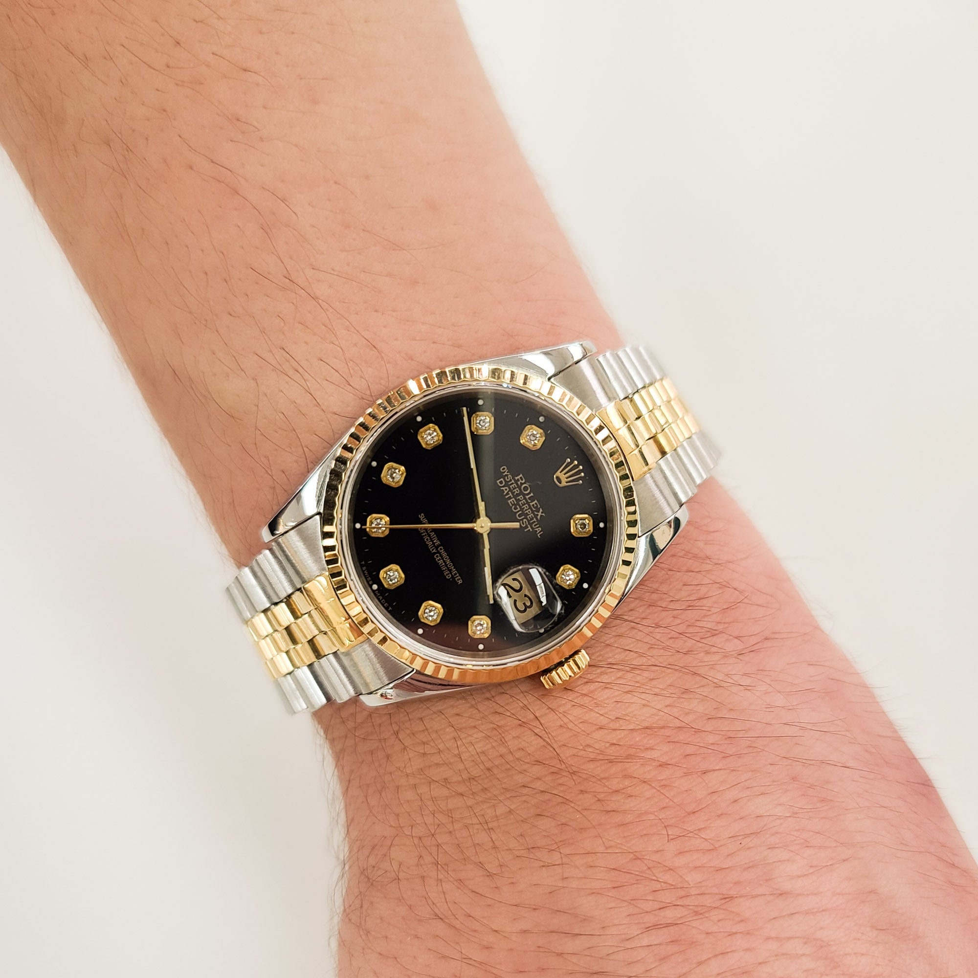 Rolex Datejust 36MM with a Jubilee Band