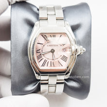 Load image into Gallery viewer, Cartier Roadster Stainless Steel Quartz 32mm Womens Watch