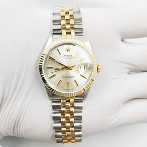 Rolex Datejust 1500 14k yellow gold