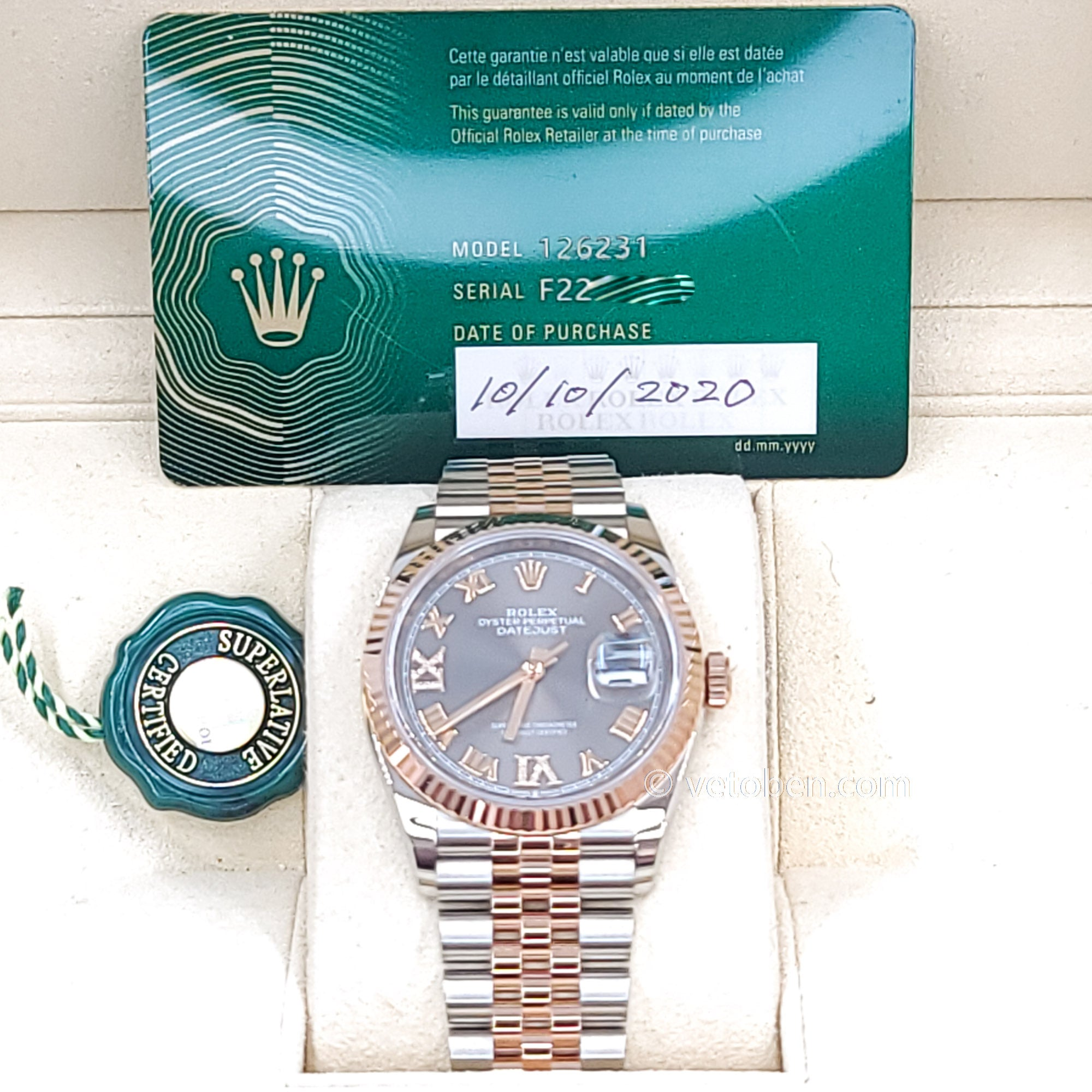 Datejust 36 Everose