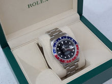 Load and play video in Gallery viewer, ROLEX GMT-MASTER PEPSI 16710A30B