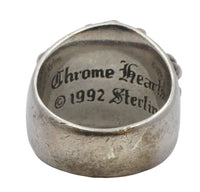 Chrome Hearts 925 Sterling Silver Keeper Ring.
