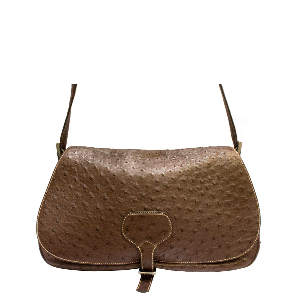 cf3a9ef3d3f46d Prada ostrich leather crossbody bag – Vetoben