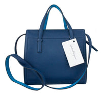 Ferragamo Amy Small Gancio Leather Tote Bag