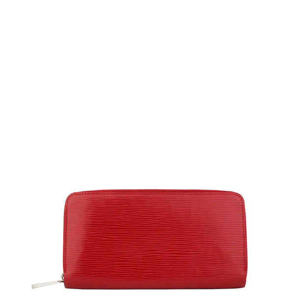 Louis Vuitton Epi Red  ZIPPY WALLET