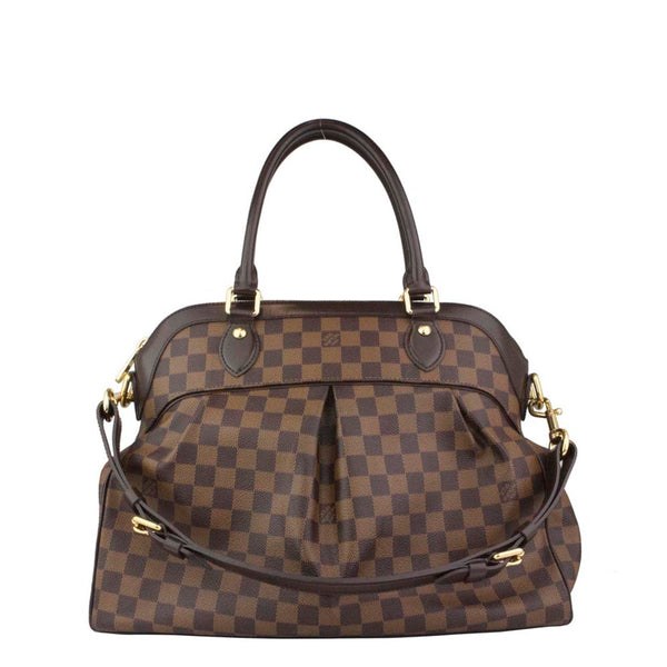 LOUIS VUITTON Damier Ebene Trevi GM Bag