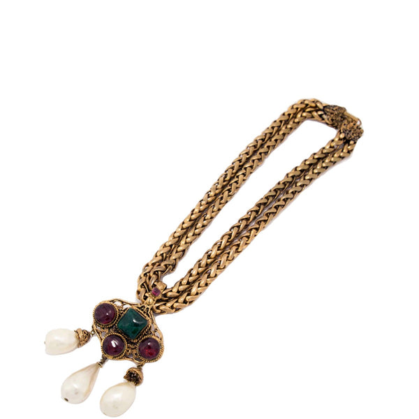 Chanel Vintage Gold Plated Necklace
