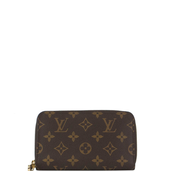 LOUIS VUITTON ZIPPY COMPACT MONOGRAM WALLET