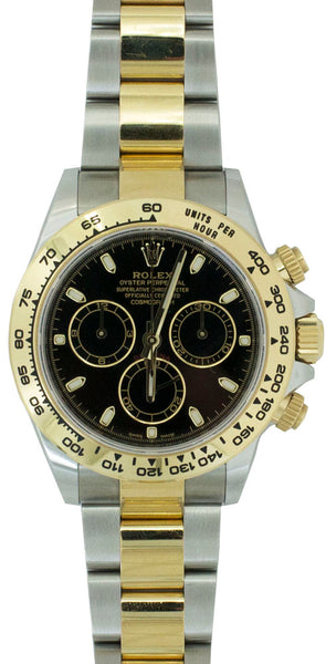 ROLEX Cosmograph Daytona Steel and 18K Yellow Gold Oyster  Watch