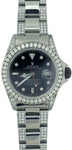 Rolex Black submariner diamond set