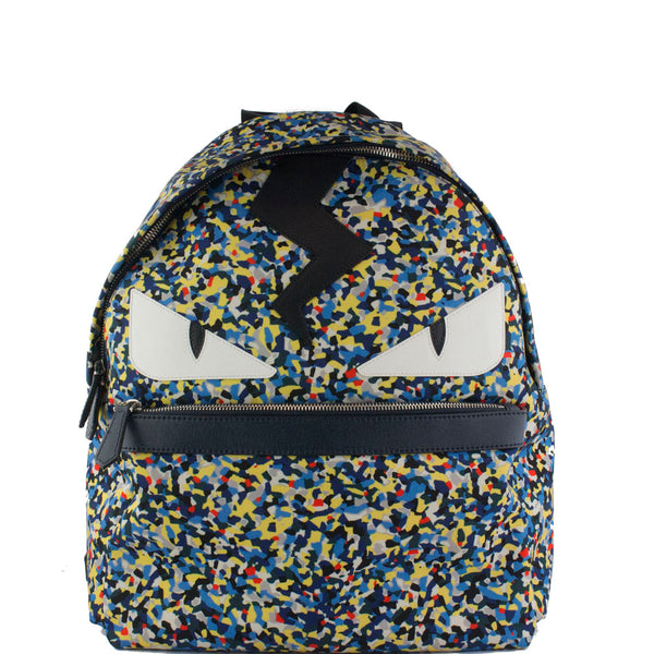 Fendi Camouflage Monster Bug's Backpack