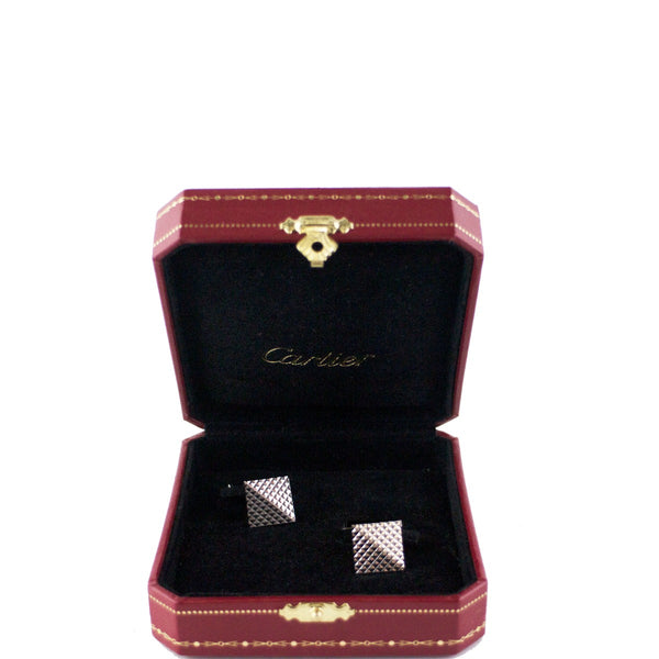 Cartier Metallic Cufflinks Men's