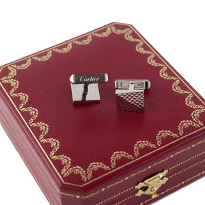 Cartier Silver Sv925 Cufflinks Men's