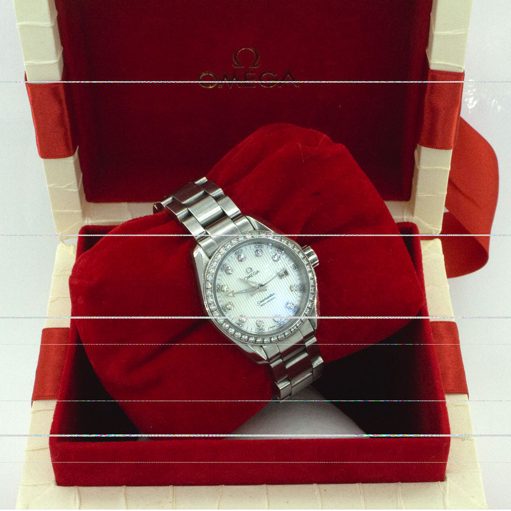 Omega Ladies Diamones bazel
