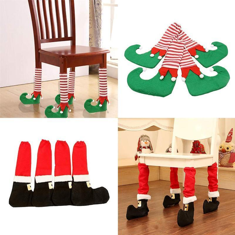 Christmas Table & Chair Leg Cover