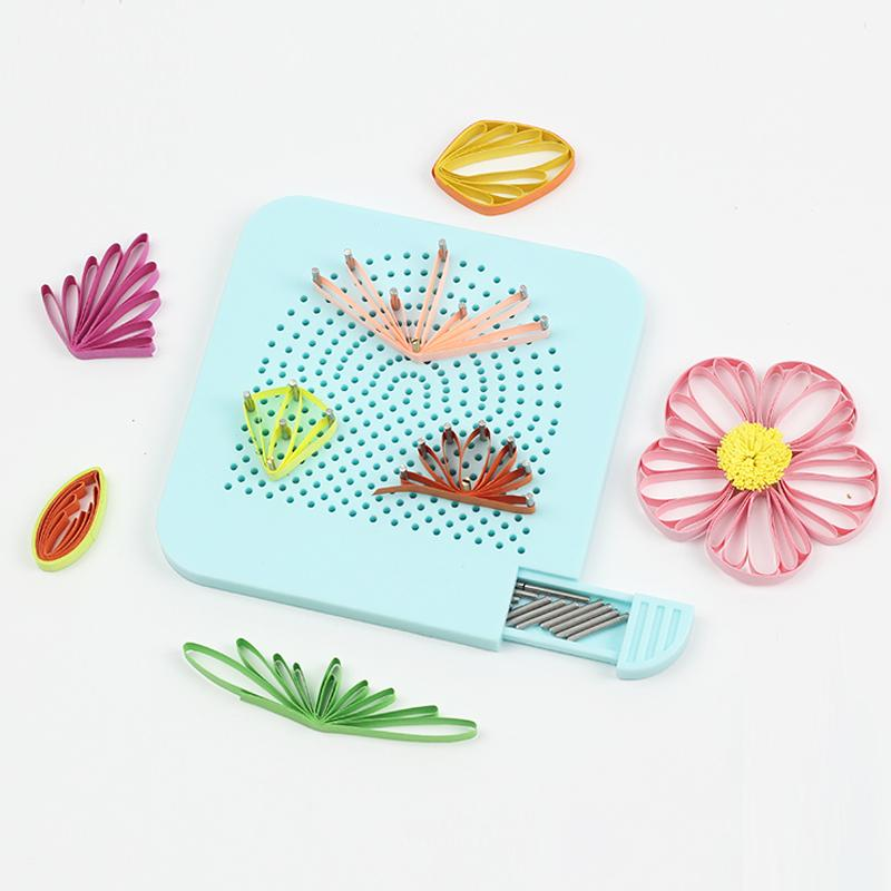 Easy Quilling Winder Board With Needles