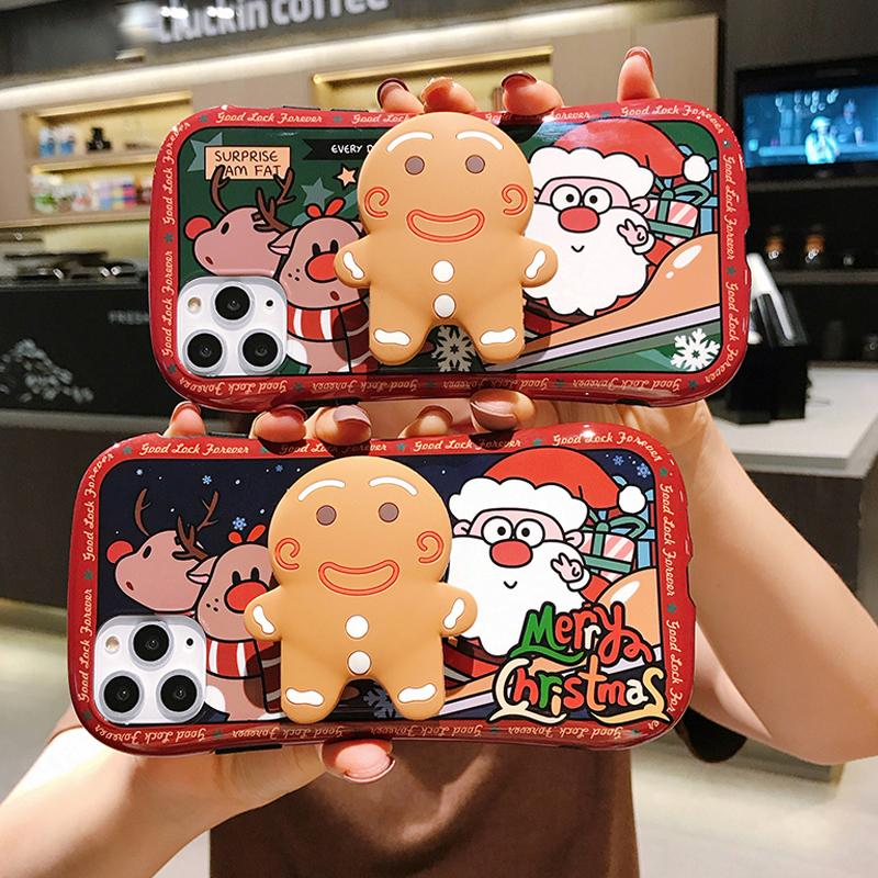 Christmas iPhone Case & Ginger Man Holder