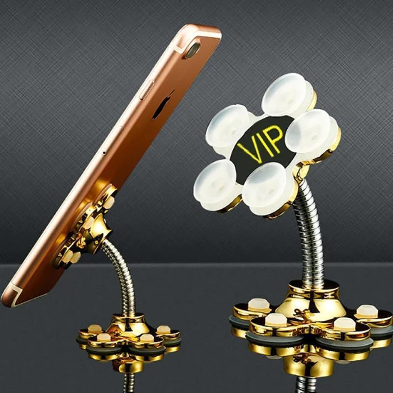 360 Flower Suction Phone Holder