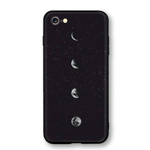 Moon Frosted Soft Back Case