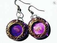 Orgonite Vortex Earrings - Customize Your Design