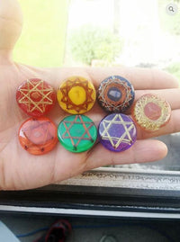 7 Chakras Nano Healing Devices SET