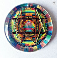 Sri Yantra 8 Quantum Vortex EMF Protection