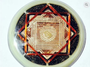Crop Circle Octahedric Resonator Vortex EMF Protection Circuit Board