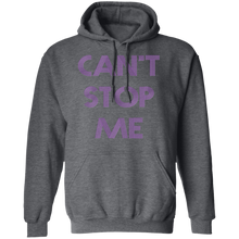 Load image into Gallery viewer, Can't Stop me Fitness Workout Apparel Clothing Workout athletic gym slogan mantra weight lifting encouragement motivation inspiration bodybuilding weight loss lose weight body get fit getfit get.fit.living get fit living getfitliving @get.fit.living @GFL_Colton Hoodie Sweatshirt performance gear