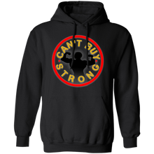 Load image into Gallery viewer, Can't buy strong fitness apparel athletic & fitness clothing apparel for gym workout crossfit earned hard inspiration motivation getfit get fit get.fit.living get fit living getfitliving @get.fit.living @GFL_Colton fitness lifting strength gym life bodybuilding strongmen strongman strong women hoodie sweatshirt