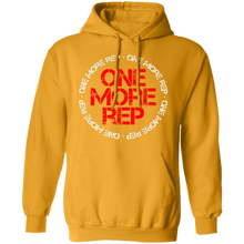 Load image into Gallery viewer, Get fit living one more rep fitness health workout gym apparel for athletics one more rep hoodie