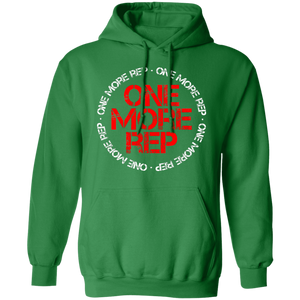 Get fit living one more rep fitness health workout gym apparel for athletics one more rep hoodie