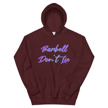 Load image into Gallery viewer, Barbell Don't Lie V2 Hoodie