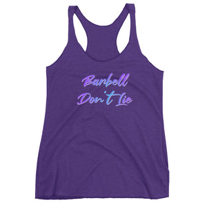 Barbell Don't Lie V2 Racerback Tank Top