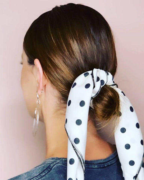 Dotty Hair Scarf