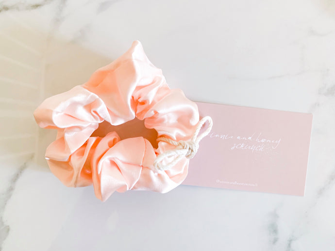 The Luxe Silk Co - Peach