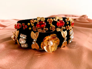 Ruby Jewelled Headband