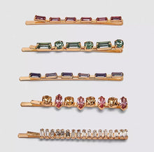 Load image into Gallery viewer, The Havana Jewelled 5pc Pin Set