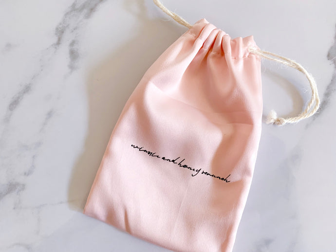 Silk Keepsake Bag