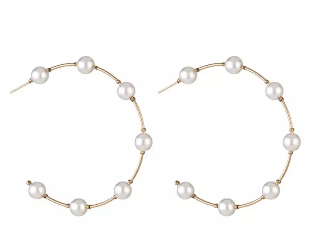 Cinzia Hoop Earrings