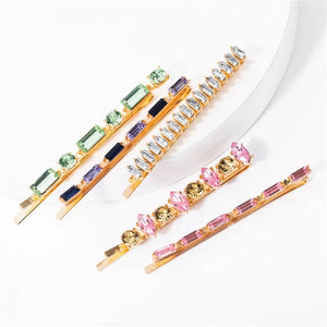 The Havana Jewelled 5pc Pin Set