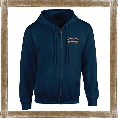 RR Nova Scotia Patch Zip Fleece
