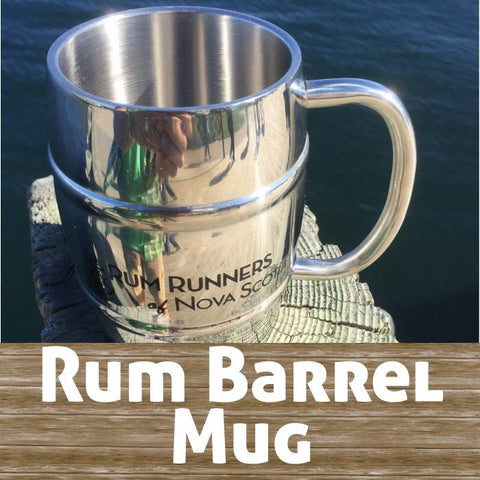 Stainless Steel Barrel Mug