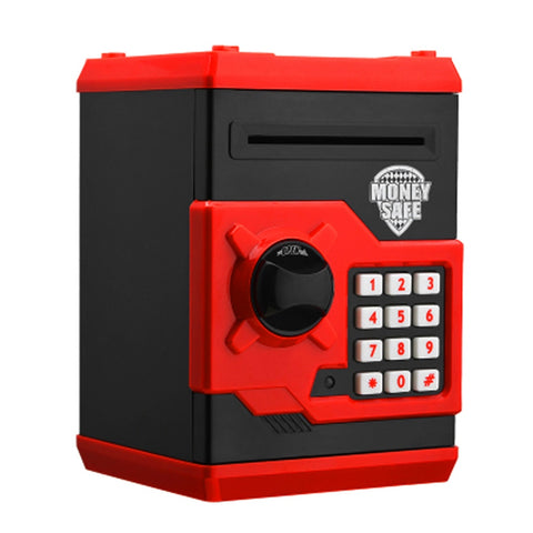 Next Generation Piggy Bank - Safe Deposit Box for Kids